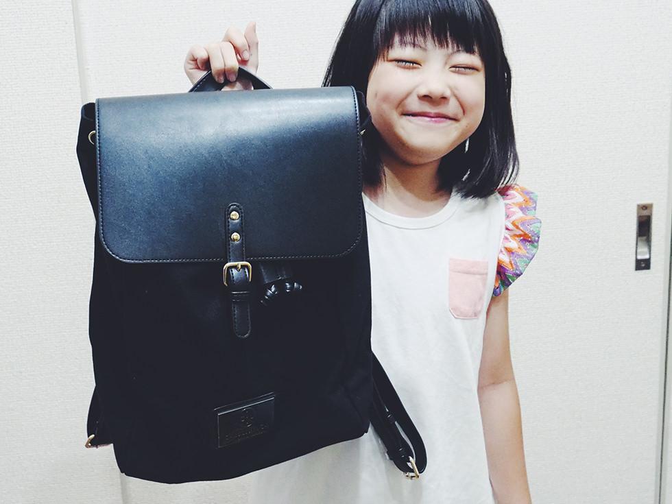 『小学生女の子のおしゃれバッグ』北欧生まれのリュックブランド Gaston Luga(ガストン・ルーガ)