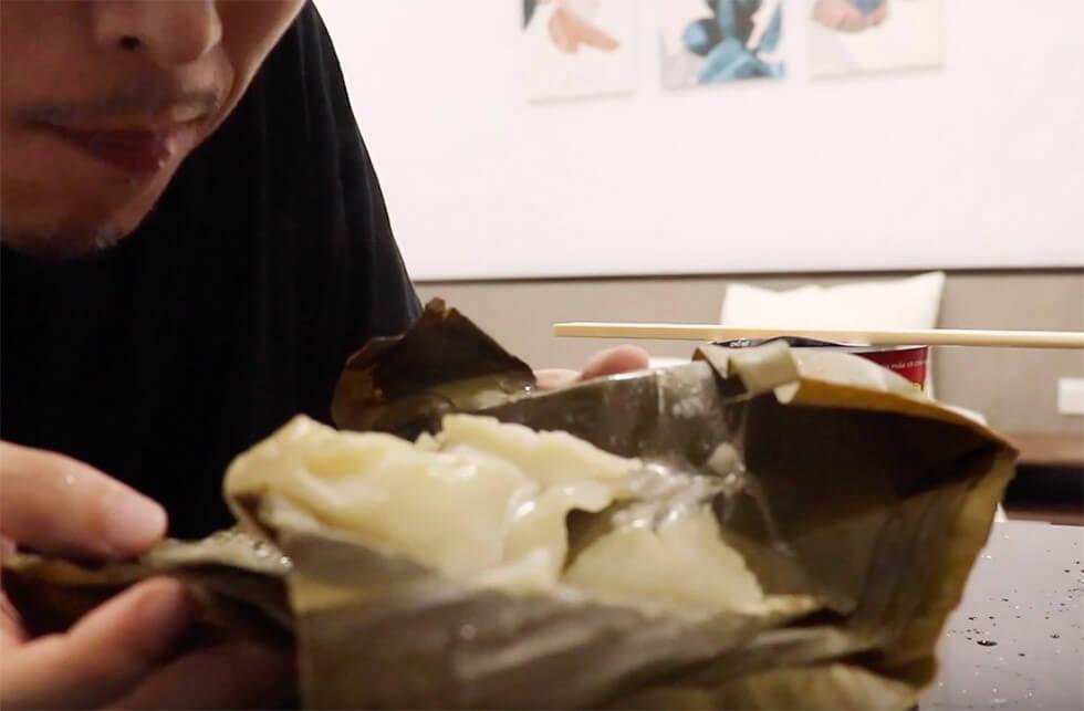 ベトナムで食べたベトナム風チマキ