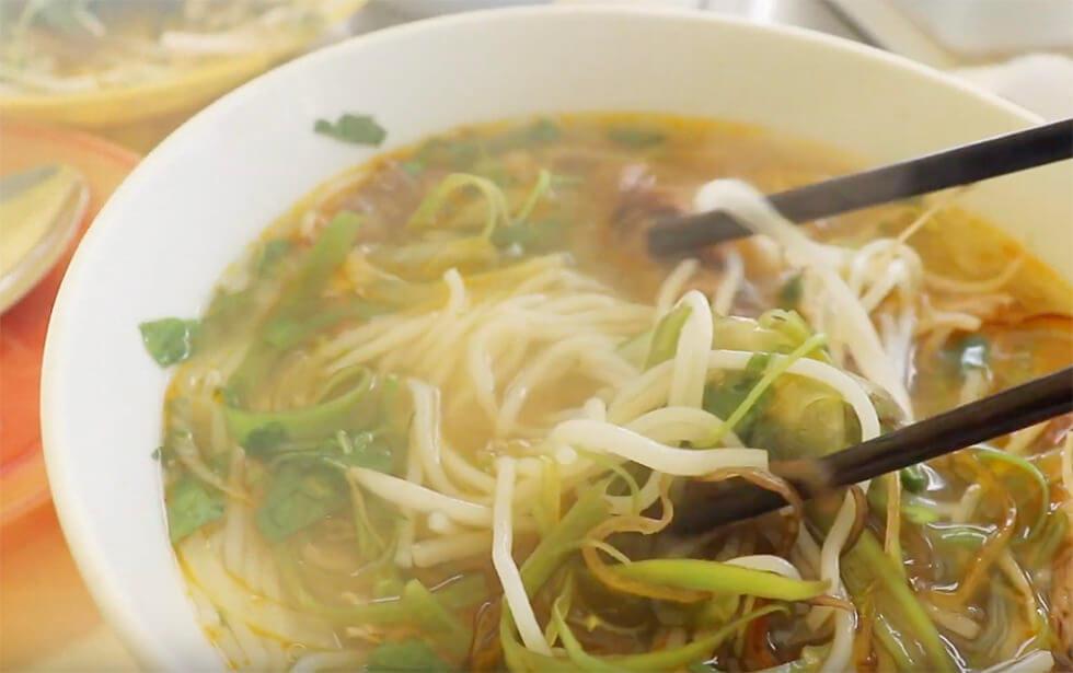 ベトナムで食べた屋台のフォー