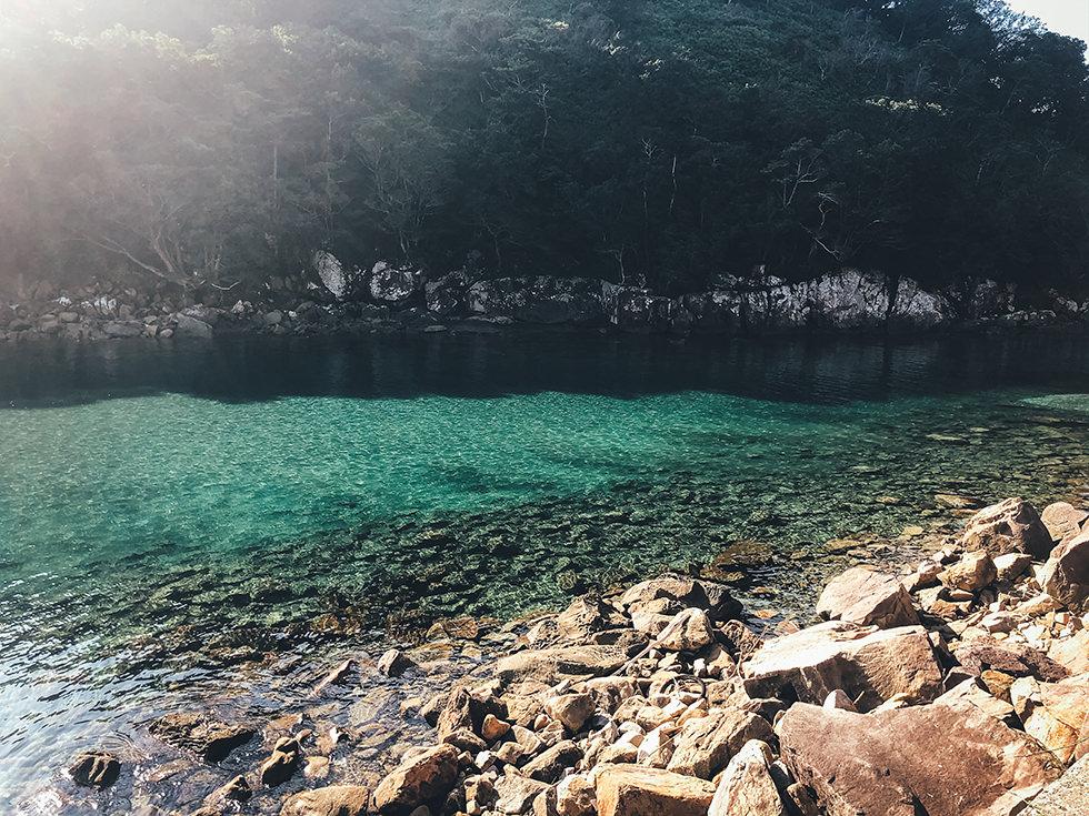 高知の綺麗な土佐の海