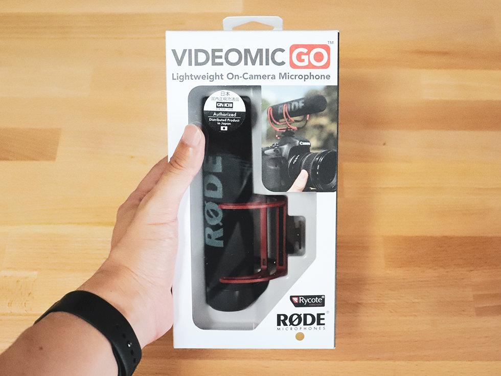 【YouTuber】一眼レフやミラーレスカメラで動画撮影におすすめの外部マイクはRODEのVideoMic GO【GH5S】