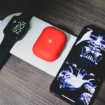 3台同時置くだけワイヤレス充電器に替えてAirPods Pro・Apple Watch・iPhone 11 Proの充電が劇的に変わる