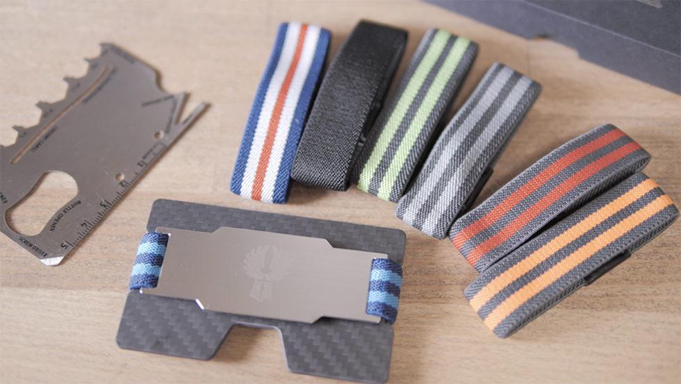 カード型タイプのキャッシュレス財布 KNIGGE