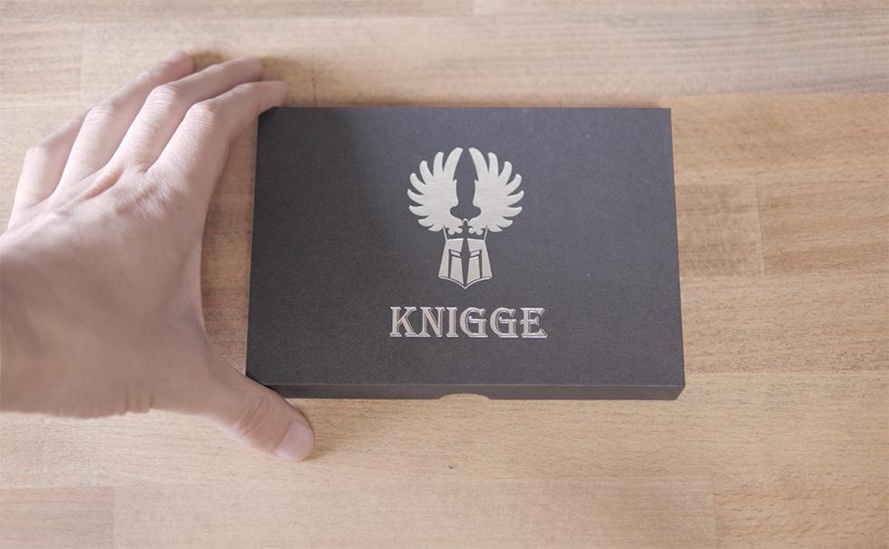 KNIGGE(クニッゲ)のブランドロゴ