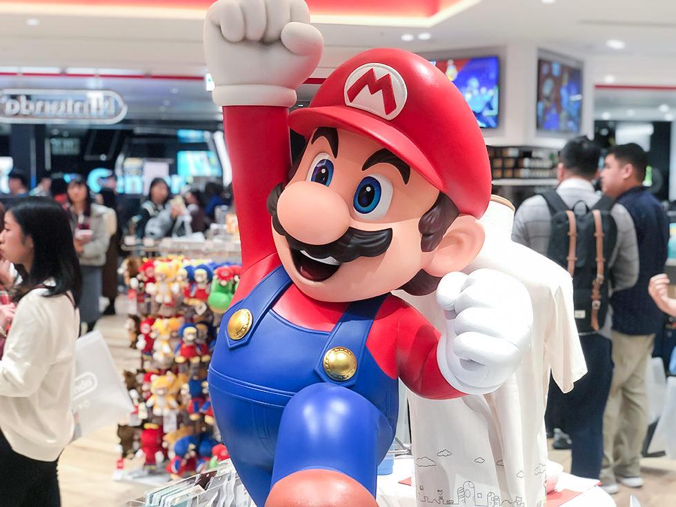 Nintendo TOKYOのスーパーマリオ