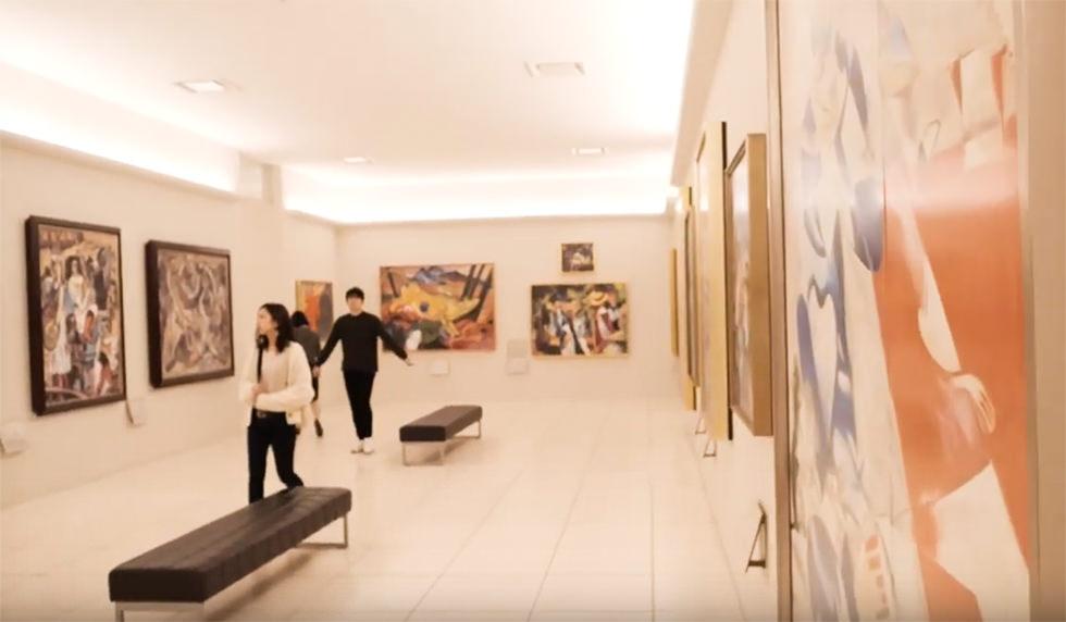 大塚国際美術館の館内展示物