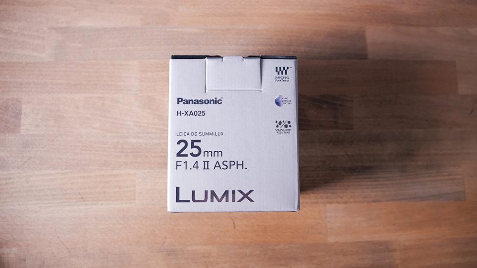 マイクロフォーサーズ用 ルミックス LEICA DG SUMMILUX 25mm/F1.4 II ASPH