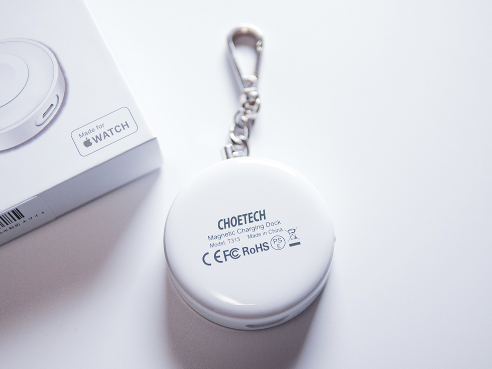 Apple Watch充電器の裏面