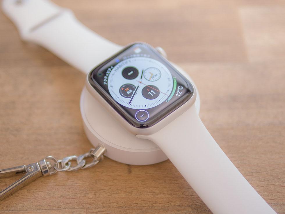 Apple Watchにおすすめの充電器はキーホルダー型モバイルバッテリーiWatchで決まり!