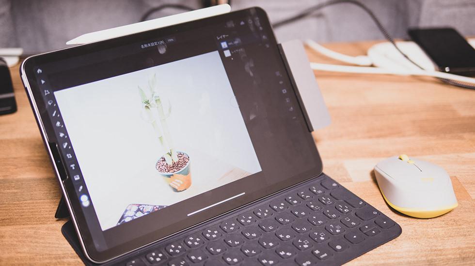 iPadのPhotoshop