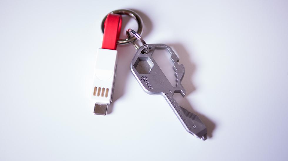 鍵と一緒に持ち歩く