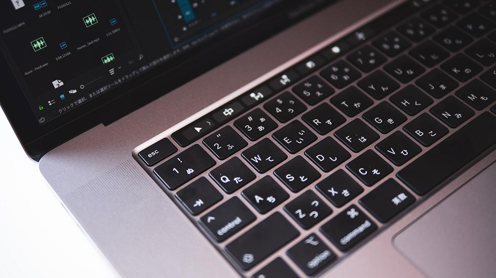 MacBookPro16インチのescキー