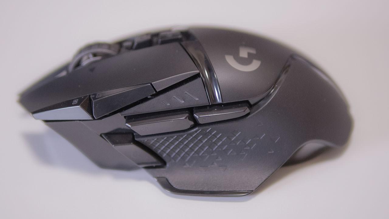 G502WLの側面のボタン配置
