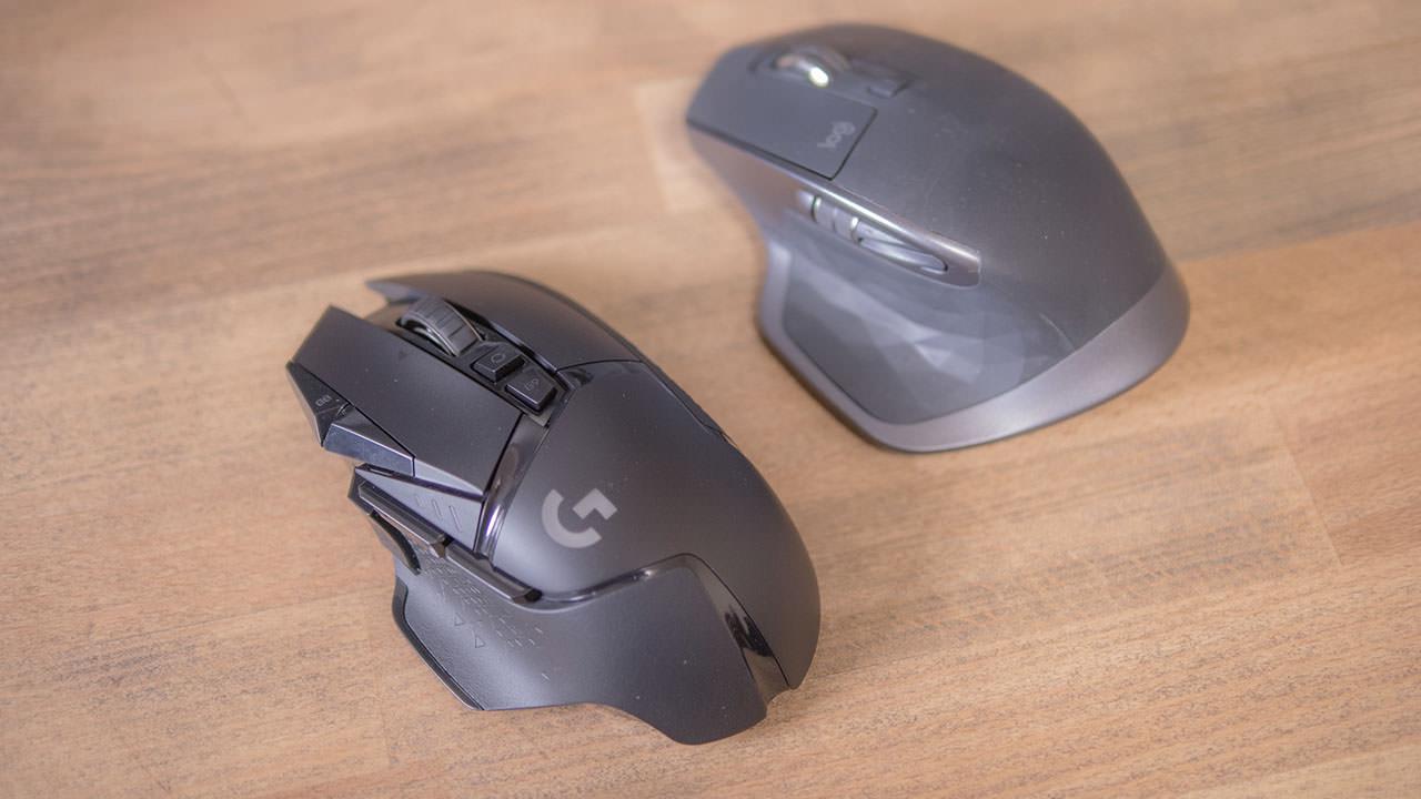 ワイヤレスゲーミングマウス G502WLの使用感を比較