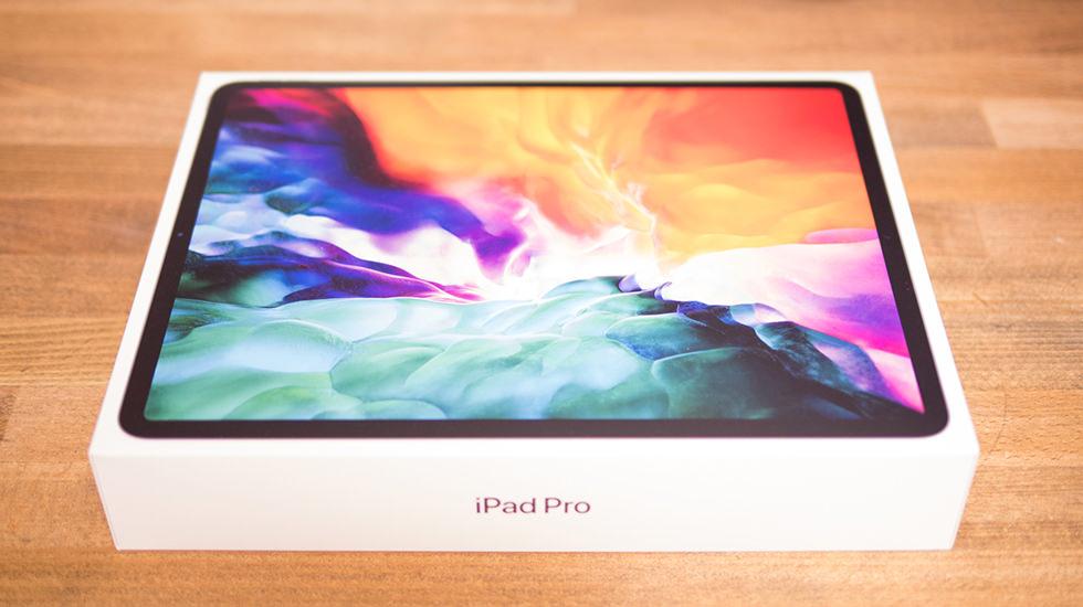 2020新モデル iPad Pro 12.9インチが入った箱