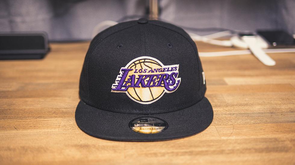 NBAロサンゼルス・レイカーズのニューエラキャップ