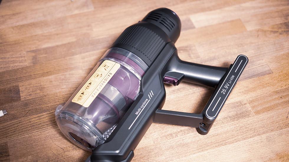 Muzili コードレス式サイクロン掃除機の長時間バッテリー