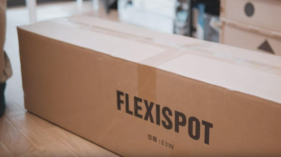 FLEXISPOT 電動式スタンディングデスク E3W 外箱