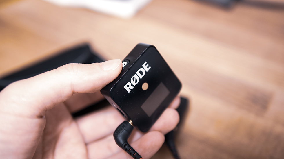 RODE Wireless GO 電源