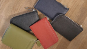 鍵やコインホームが入る薄い財布が完成【RESKYオリジナル財布】