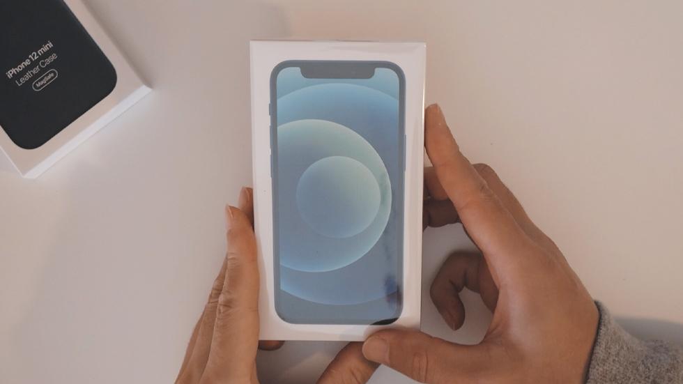 iPhone12miniの実機開封レビュー