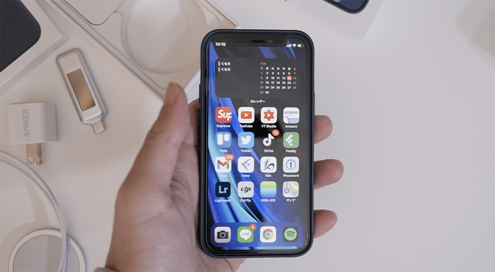 iPhone 12 mini 実機